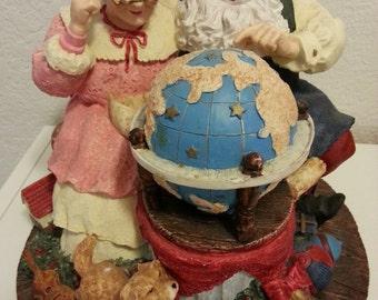 Mr. & Mrs. Claus Figurine