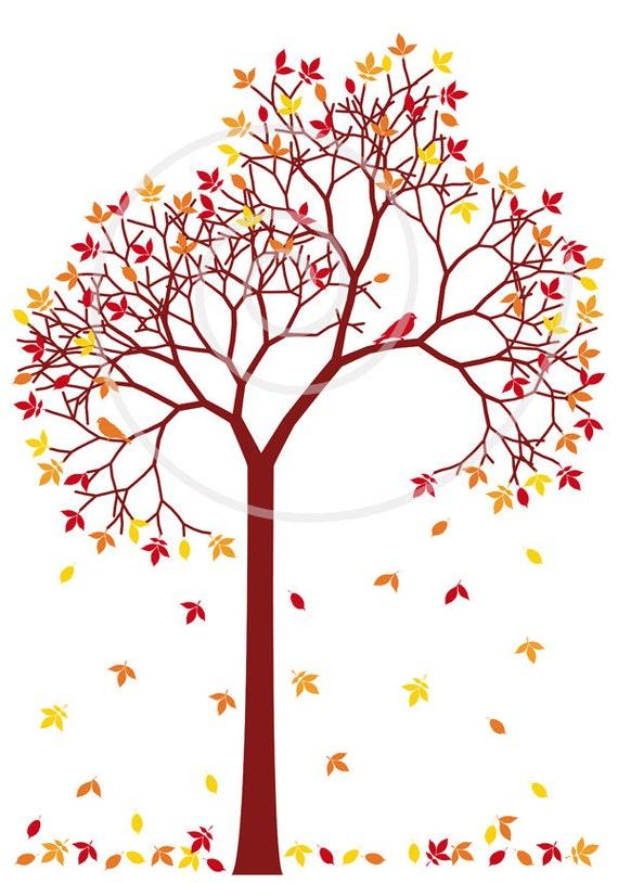 autumn tree clipart - photo #7