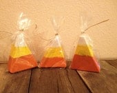 Candy Corn Wooden Candy Corn Happy Halloween Distressed Halloween