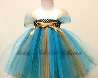 Brave Merida inspired tutu dress- sizes 0-6 months, 6-24 months, and 2T - 5T