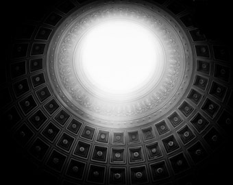Abstract Photography, 11x14 Print, Italy Photography, Black and White Photography, Geometric, Abstract Art, Rome, Architecture, Large Print