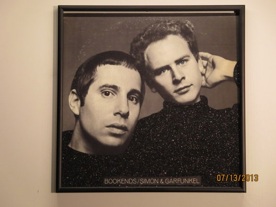Glittered Record Album - Simon and Garfunkel - Bookends