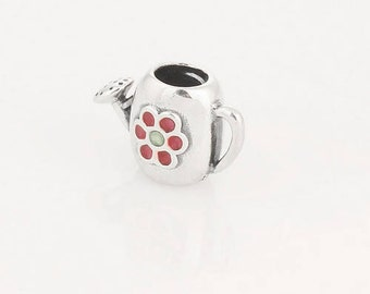 WATERING CAN Spacer .925 Sterling Silver European Charm Bead