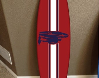 wall hanging surf board surfboard decor hawaiian beach surfing beach decor