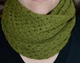 Eyelet Cowl - MADE TO ORDER