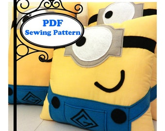 Character Pillow -- PDF Sewing Pattern