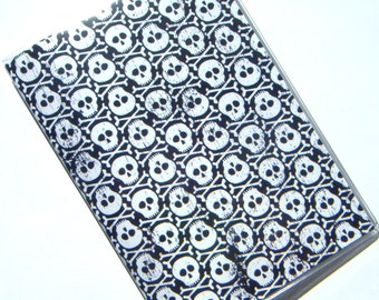Skulls Passport Cover Holder Case