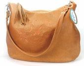 Genuine Leather Hobo Handbag - BeautifulBagsEtc