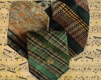 Vintage necktie trio4