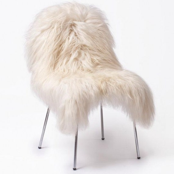 Extra grand luxe peau de mouton islandais par cuerointeriors for Grand tapis en peau de mouton ikea