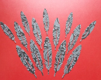 Clearance - Die Cut Feathers (695)