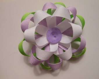 Ribbon flower