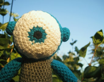 Cyclops Jr. -handmade crochet, made to order