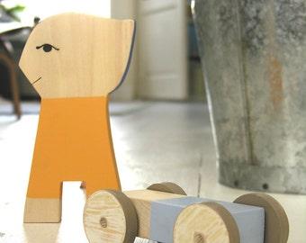 HUBOY - Wooden toy