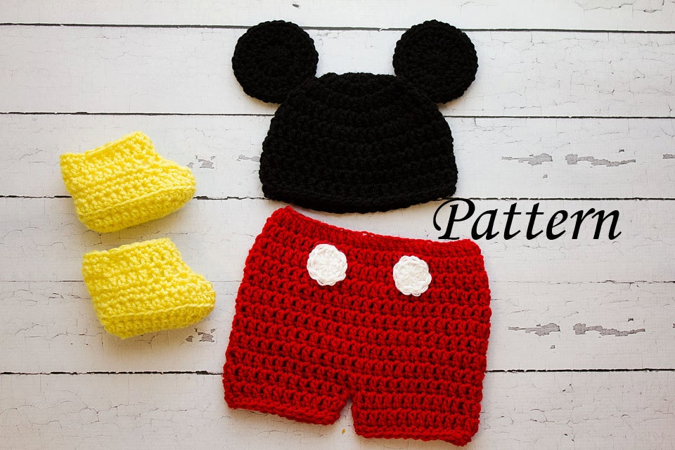 Free Crochet Pattern For Toddler Mickey Mouse Hat ~ manet for .