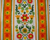 Vintage Cotton Fabric NEW Old Stock Fabric One Yard piece