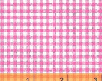 Pink Gingham Check by Windham Fabrics