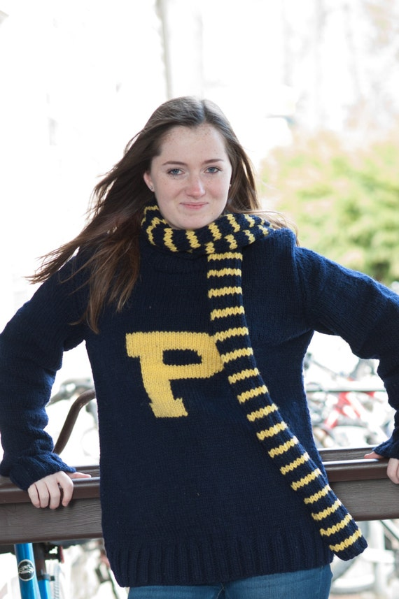 Ron Weasley Sweater AND scarf Harry Potter by CampKitschyKnits
