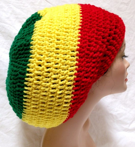 Crochet Pattern For A Rasta Hat : RESERVED for Barbara by Africancrab on Etsy