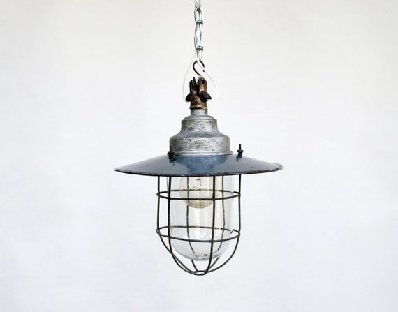 vintage industrial ceiling lamp light fixture enamel industrial lighting pendant industrial decor antique industrial lighting fixtures