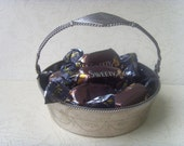 Vintage Soviet Candy Bowl Made of Stainless Steel in 1980's