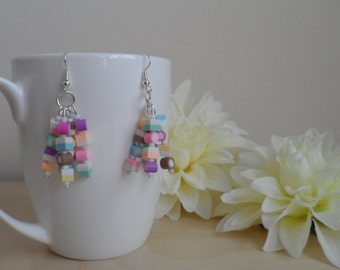 Dolly Mixture Cluster Earrings