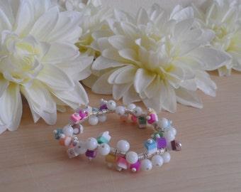 Dolly Mixture Spiral Bracelet