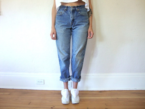 Levi's High Waisted Boyfriend Jeans Size S by LUVSONGS on Etsy