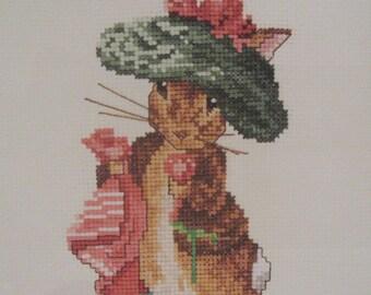 cross stitch beatrix potter benjamin bunny  CHART INSTRUCTIONS ONLY lakeland artist new