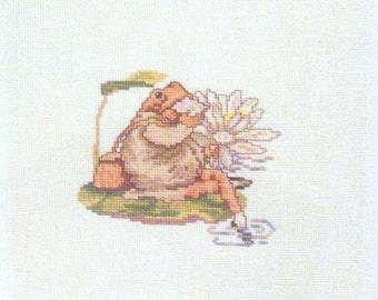 cross stitch beatrix potter mr jeremy fisher butterfly sandwich CHART INSTRUCTIONS ONLY lakeland artist new