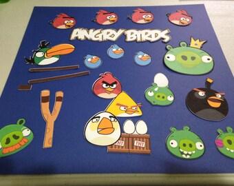 Angry Bird Die Cut Set