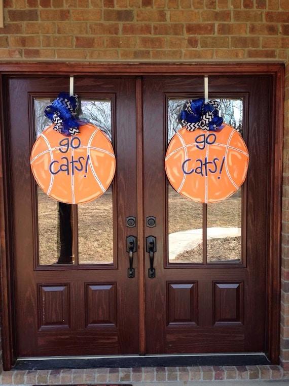 Custom Basketball Door Hanger Kentucky Wildcats By