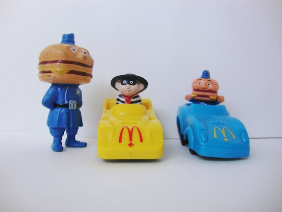 Vintage Toys From The 80s : Vintage mcdonalds toys from the s hamburglar officer big
