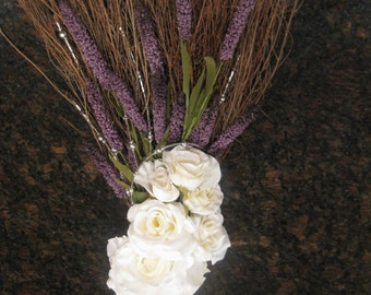 Custom Designed Wedding Broom