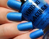 Handmade Nail Polish- Rockabilly Collection Part 2- Blue Suede Shoes