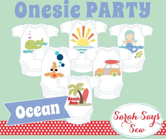 DIY Baby Shower Outfit Decorating ONEZIE PARTY By