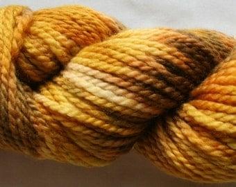 Hand Painted 100% Superwash BFL Wool  Aran Weight Yarn (116)