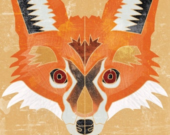 FOX | Limited Edition Print| A4 (8.5 X 11) with border