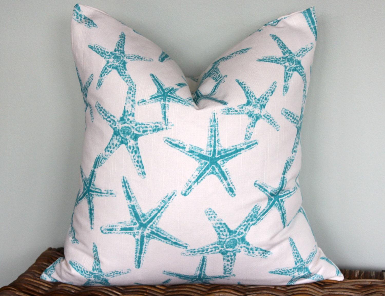 Coastal Decorative Pillow Covers : Summer Beach Throw Pillow Covers Nautical by LittleYellowNest