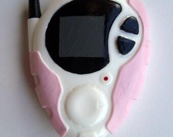 Kari's Pink Digimon D3 Digivice Season 2 Cosplay Prop Replica