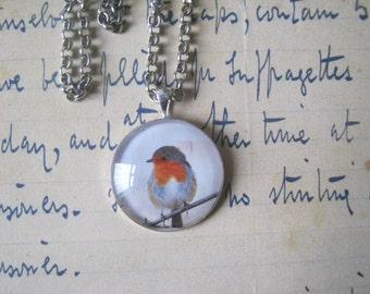 Robin Pendant Necklace - Handmade Unique