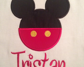 Disney Mickey Mouse Personalized Shirt