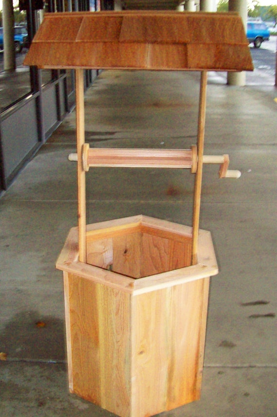 5 Cedar Wishing Well DIY Kit