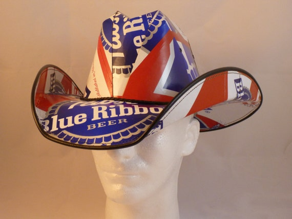beer box cowboy hat  2