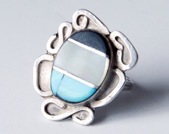Vintage Silver Native American Ring