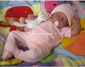 "20"" newborn tshirt sewing pattern for baby or reborn"