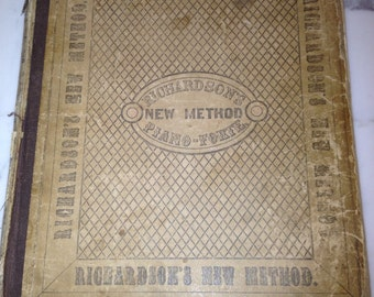 Sale! Vintage Richardson's Music Book
