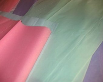 Pastel Colors Wrapping Tissue Paper Pack of  100 Sheets