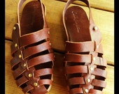 Hand Made Leather Sandal for Woman - Avia Sandals