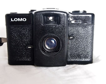 Lomo LCA russian vintage point and shoot film camera TESTED and works